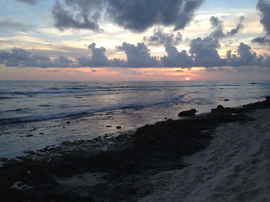 Sunset on Oahu photo by Scott Holleran