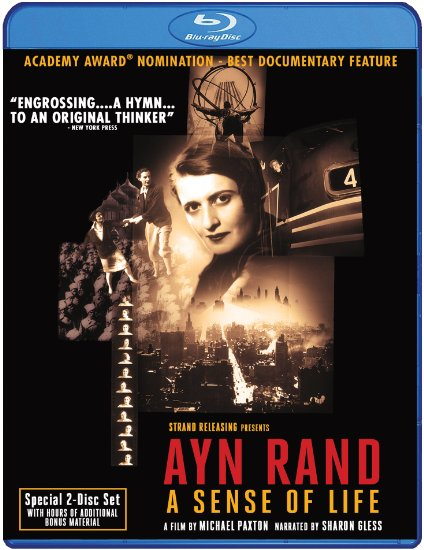 Movie & Blu-Ray Review: Ayn Rand: A Sense of Life (1997)