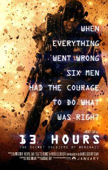 Movie Review: 13 Hours: The Secret Soldiers of Benghazi