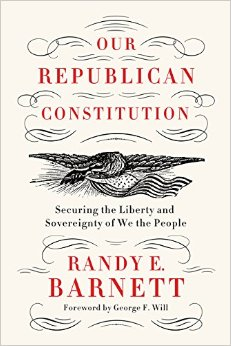 Book Review: Our Republican Constitution (2016)