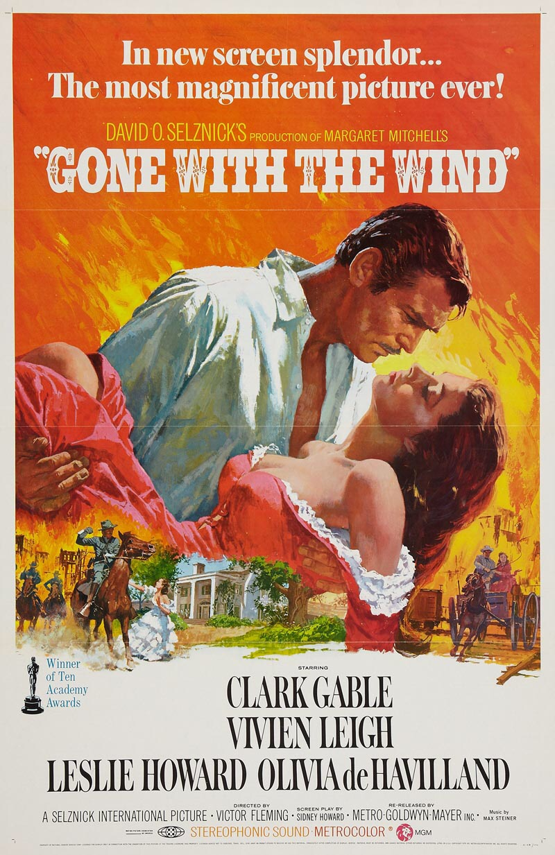 Joe Buck, Scarlett O'Hara, Doris Day and the Movies